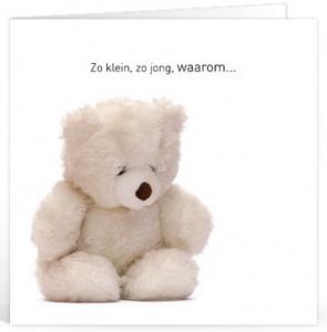 Sterkte Wensen verlies kind voor op een kaartje